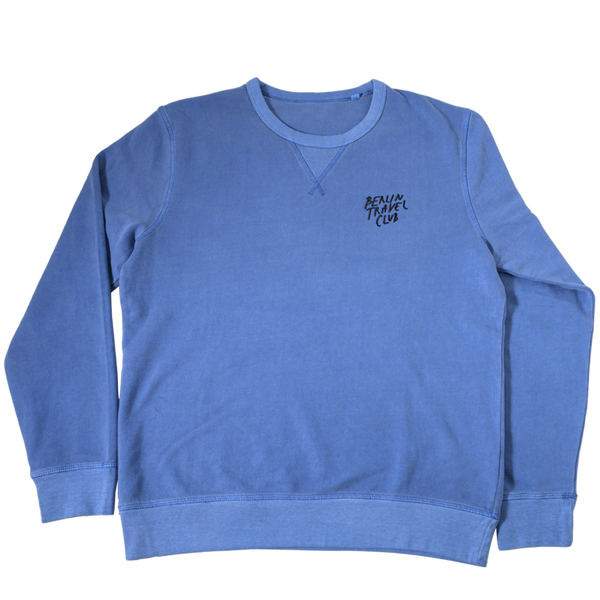 "> Sweater ""Berlin Travel Club"" - cadet blue"
