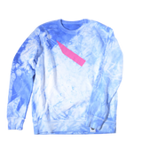"Sweater ""Clouds"" - sky blue"