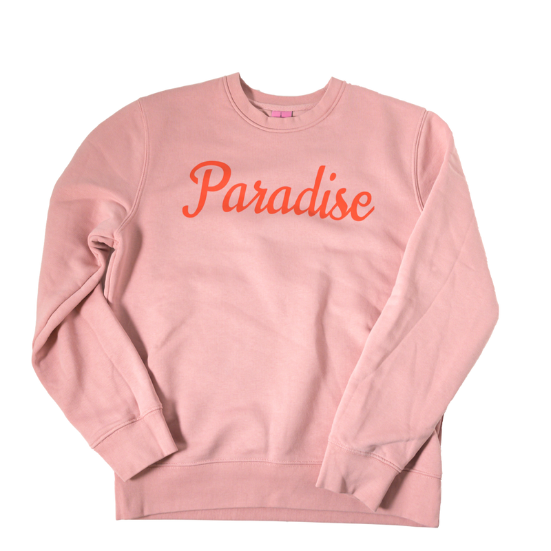 "Sweater ""Paradise"" - canyon pink"