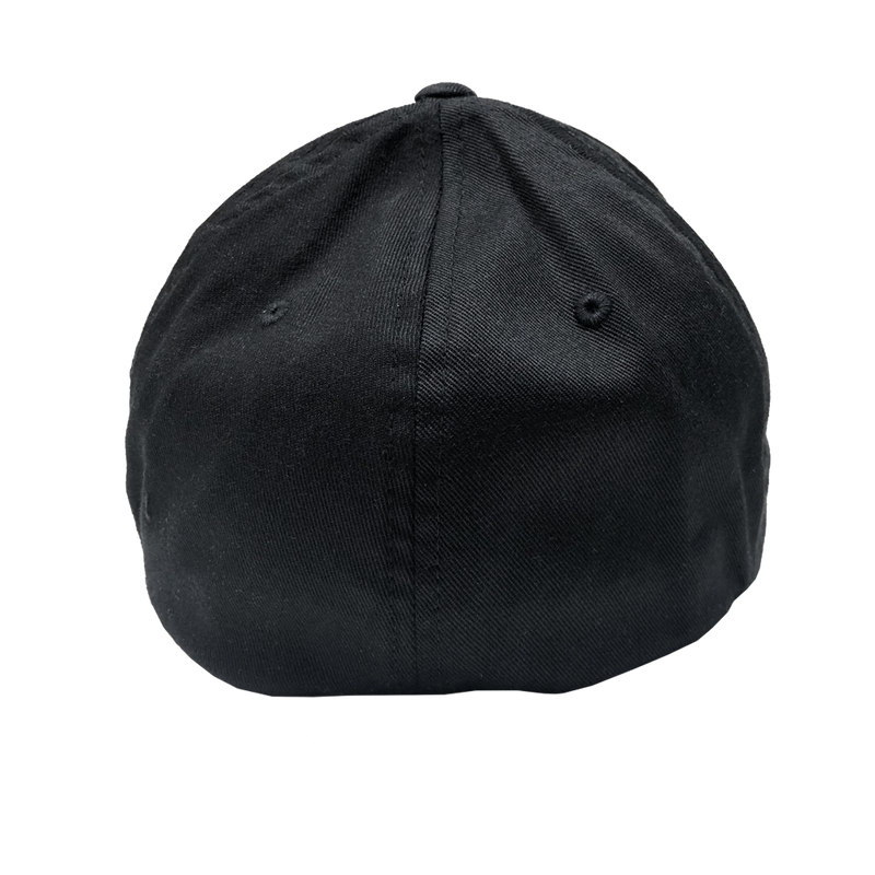 "Cap ""Holiday"" - FLEXFIT Wooly Combed - black"