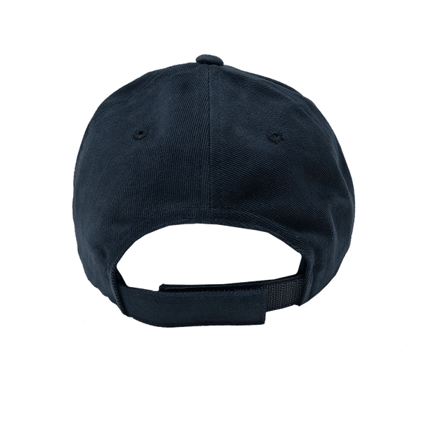 "Cap ""Vive les Vacances"" - FLEXFIT Brushed Cotton Twill - blue"