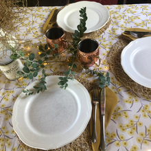 Load image into Gallery viewer, Blossoming Golden Wattle Tablecloth