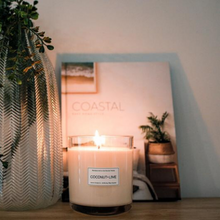 Load image into Gallery viewer, Coconut & Lime Handmade Soy Candle