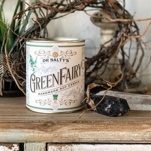 Green Fairy - Handmade Soy Wax Candle