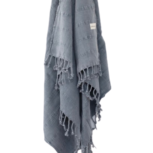 Turkish Towel - Stonewashed Denim