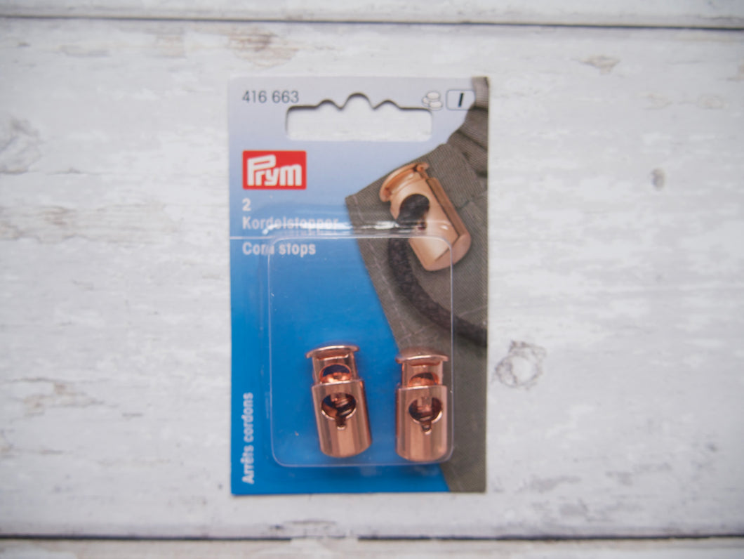 Prym Rose Gold Cord Toggles