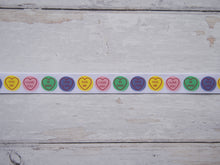 Load image into Gallery viewer, 'Love Hearts' Grosgrain Ribbon
