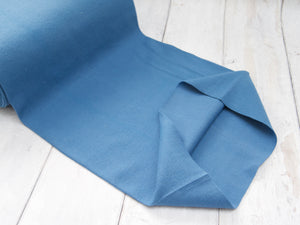 2 x 2 Tubular Ribbing, Denim Blue, £10 p/m
