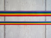 Load image into Gallery viewer, Rainbow Grosgrain Ribbon