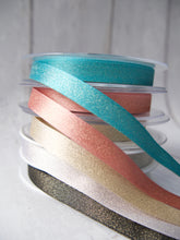 Load image into Gallery viewer, 10mm Sparkle Satin Ribbon