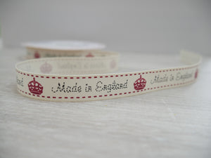 Made in England Grosgrain Ribbon