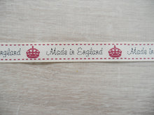 Load image into Gallery viewer, Made in England Grosgrain Ribbon