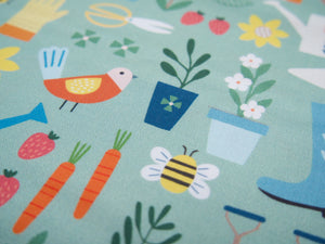 Hobbies Printed Cotton, Gardening £14 p/m