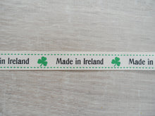 Load image into Gallery viewer, Made in Ireland Grosgrain Ribbon