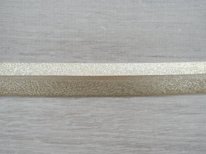 20mm metallic binding - Gold