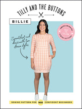 Load image into Gallery viewer, Tilly and the Buttons Billie - Printed Sewing Pattern