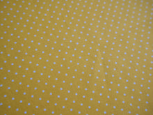 Load image into Gallery viewer, Pin-Spot Printed Cotton, Yellow £8 p/m