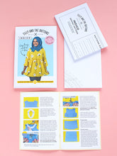 Load image into Gallery viewer, Indigo Dress Making Kit - Tea Party Crepe