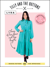 Load image into Gallery viewer, Tilly and the Buttons Lyra Dress Pattern