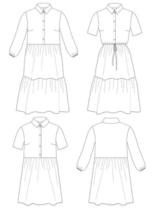 Tilly and the Buttons Lyra Dress Pattern