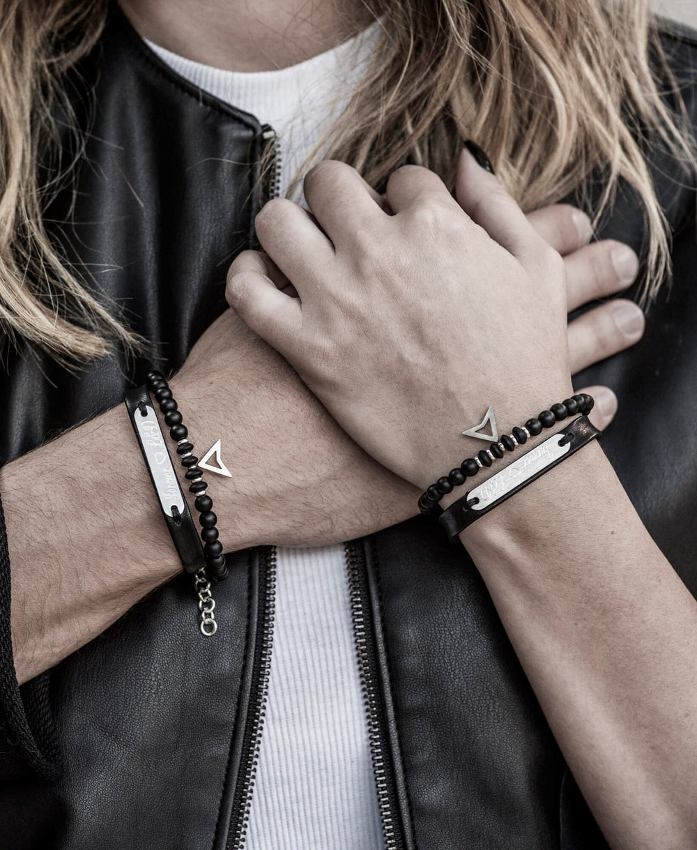SAAR | necklaces and bracelets sets for couples