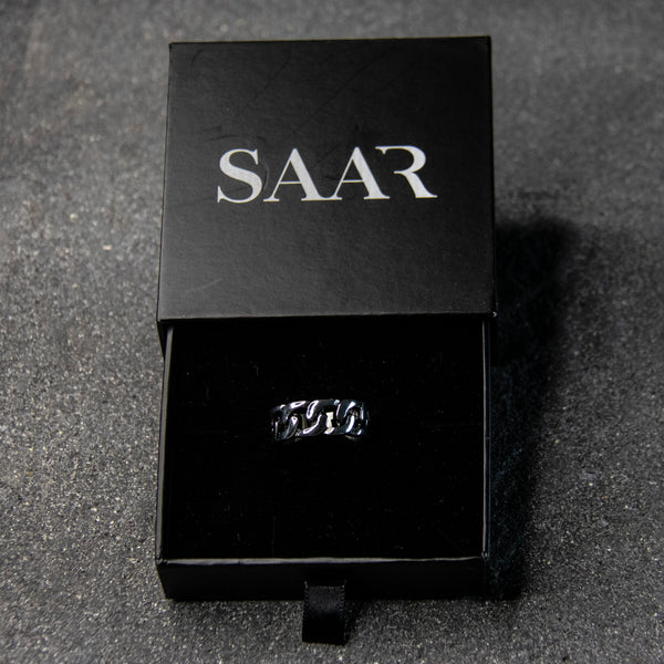 Zyair chain Stainless Steel Ring for Men