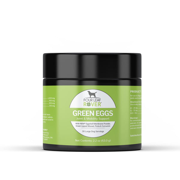 Four Leaf Rover Green Eggs Natural Joint Supplement | Supplement | Four Leaf Rover - Shop The Paws