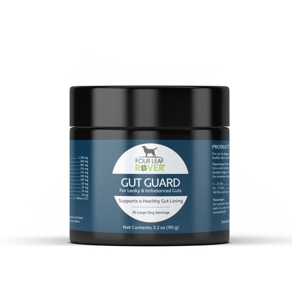 Four Leaf Rover Gut Guard | Supplement | Four Leaf Rover - Shop The Paws