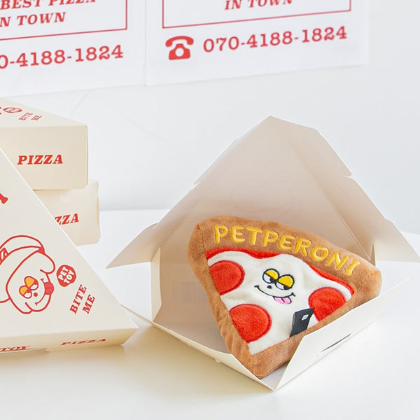 Bite Me Petperoni Pizza - Toys - BiteMe - Shop The Paws