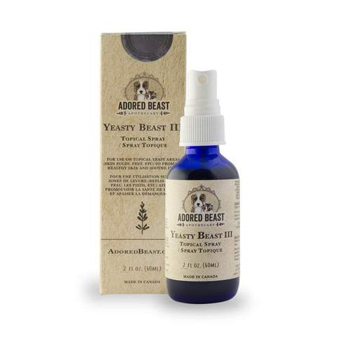 Adored Beast Yeasty Beast Topical Spray 60ml - for dogs only | Health | Adored Beast - Shop The Paws