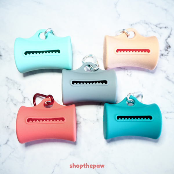 Shopthepaw - Silicone Poop Bag Dispenser | Accessories | shopthepaw - Shop The Paws