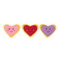 ZippyPaws Valentine's Miniz 3-Pack Heart Cookies - Toys - ZippyPaws - Shop The Paws
