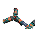 andblank® Graphic H Harness - Flower Lion Green | Accessories | andblank - Shop The Paws