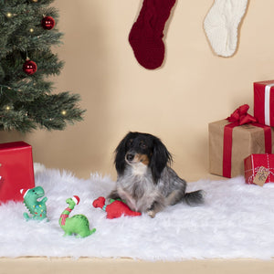 Fringe Studio Mini Christmas Dinos Dog Toy | Toys | Fringe Studio - Shop The Paws