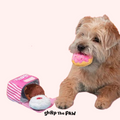 BARK Barker's Dozen Donut Dog Toy | Toys | Bark - Shop The Paws