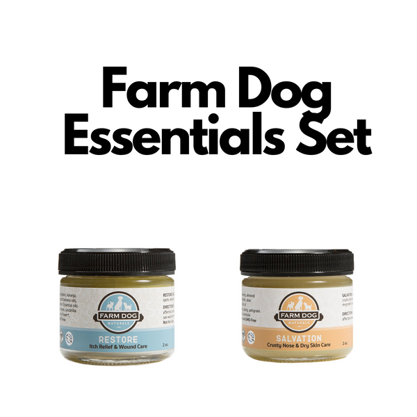Farm Dog Naturals Essentials Set | Grooming | Farm Dog Naturals - Shop The Paws