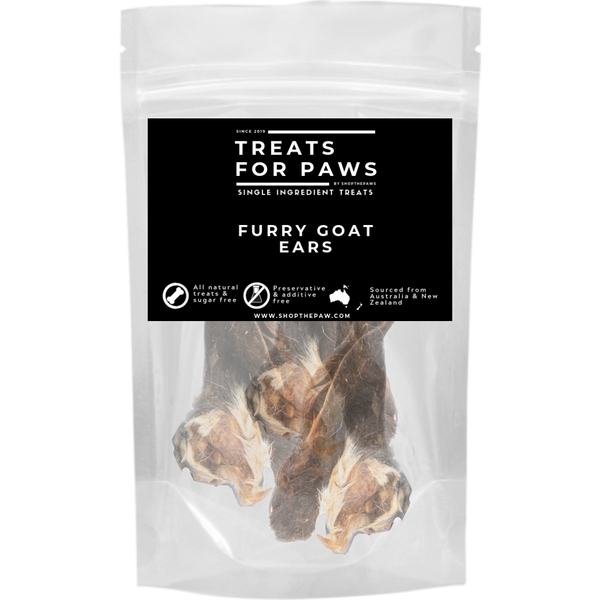 Treats For Paws - Furry Goat Ears