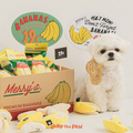 Bite Me Merry's Banana Nose Work Dog Toy | Toys | BiteMe - Shop The Paws