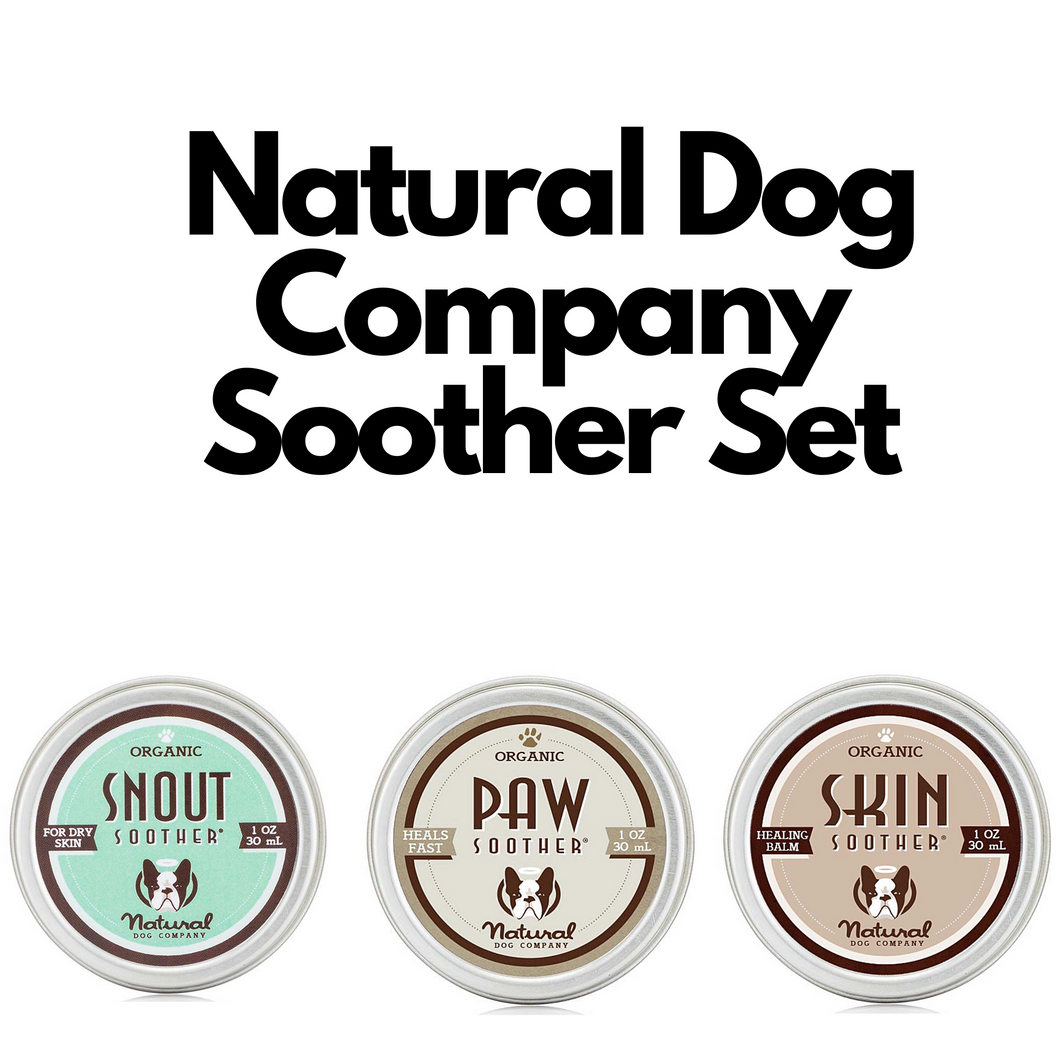 Natural Dog Company Soother Set - Grooming - Natural Dog Company - Shop The Paws