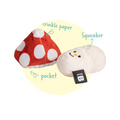 Bite Me Mushroom Nose Work Dog Toy | Toys | BiteMe - Shop The Paws