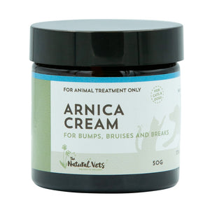 The Natural Vets Arnica Cream | Supplement | The Natural Vets - Shop The Paws