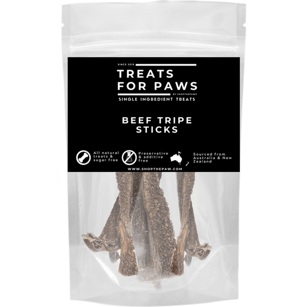 Treats For Paws - Beef Tripe Stick