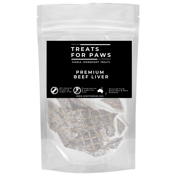 Treats For Paws - Premium Beef Liver