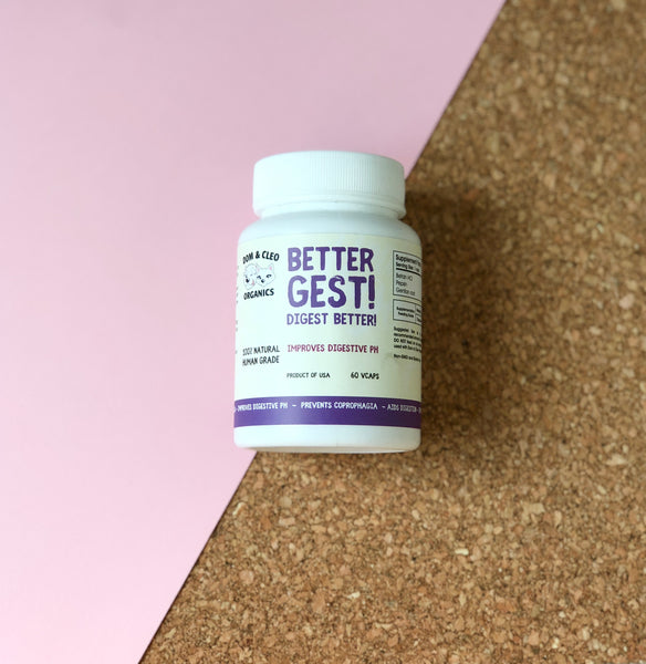 Dom & Cleo Organics BetterGest! Supplement (60 Vcaps)
