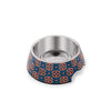 Ohpopdog - Pet Bowl Heritage Baba Navy 150 | Feeder | Ohpopdog - Shop The Paws