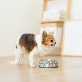 Ohpopdog - Pet Bowl Heritage Bunga Peach 6 | Feeder | Ohpopdog - Shop The Paws