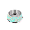 Ohpopdog - Pet Bowl Heritage Straits Mint 17 | Feeder | Ohpopdog - Shop The Paws