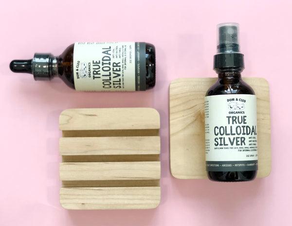 Dom & Cleo Organics True Colloidal Silver (2oz/60ml)