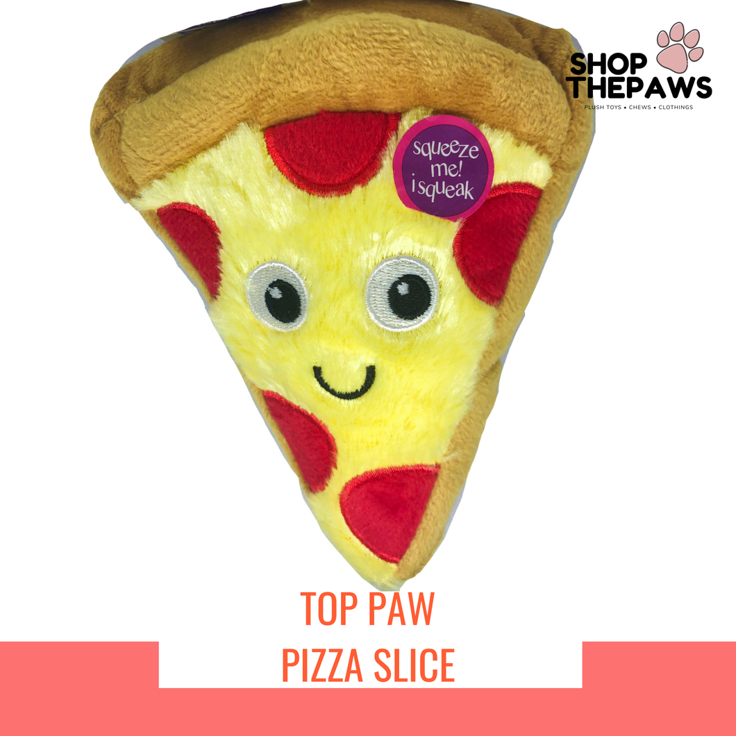 TOP PAW Pizza Plush Toy