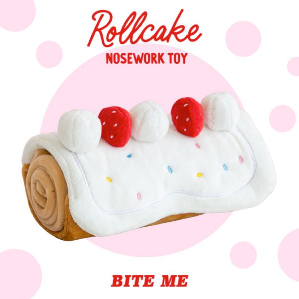 Bite Me Roll Cake Nose Work Toy | Toys | BiteMe - Shop The Paws